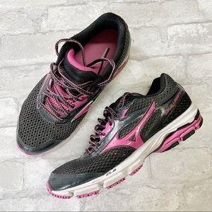 Mizuno wave legend 3 black pink running shoes 8
